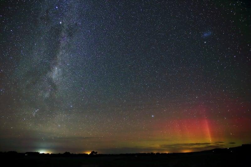 best places southern lights Aoraki Mackenzie International Dark Sky Reserve, New Zealand