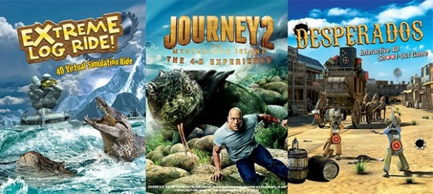 Enjoy 1-For-1 Admission in Sentosa 4D AdventureLand with NTUC Card