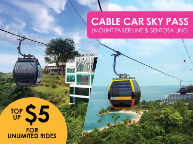 Double the Joy with TWO Cable Car Lines on Singapore Cable Car