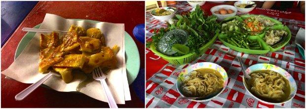 krabi food kanom jeen thai pancakes