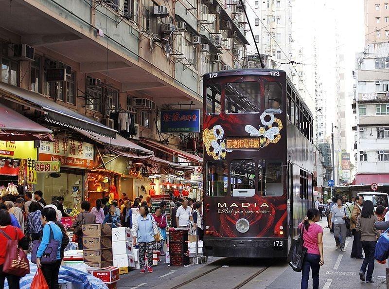 chợ đường phố Hong kong