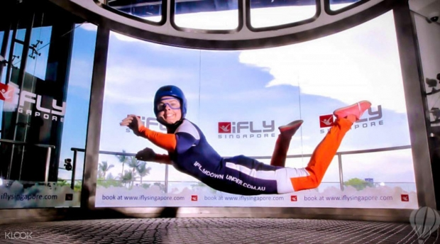 Get 10% Off First Time Challenger in iFly Singapore for AMEX Cardholder