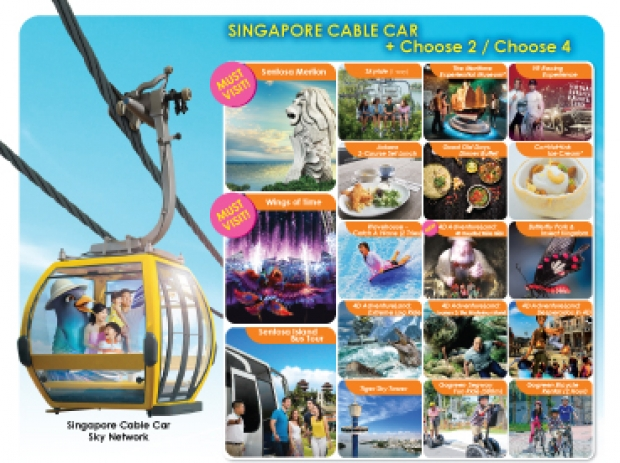 Happy 2 & 4 Deal in One Faber Group Attractions