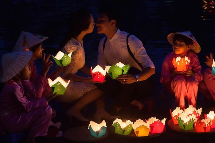 Hoa Đăng Hội An Du lịch dịp lễ tình nhân