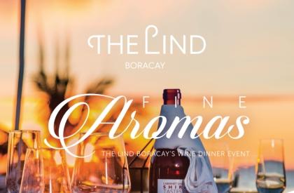 Fine Aromas, The Lind Boracay's Wine Dinner Event