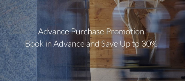Advance Purchase Deal in Far East Hospitality with Up to 30% Savings