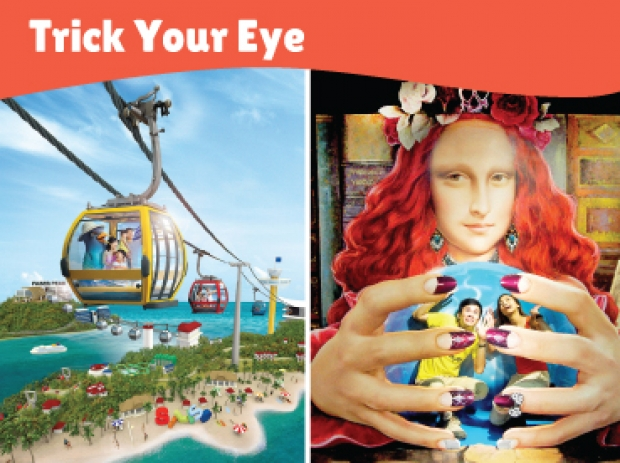 Trick Your Eye Bundle with One Faber Group Attraction