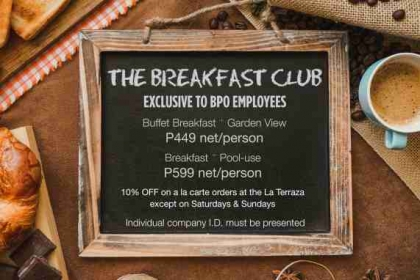 The Breakfast Club for BPO Employees