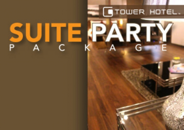 Premier Suite Party Package in G Tower Hotel from RM11OO nett per room per night