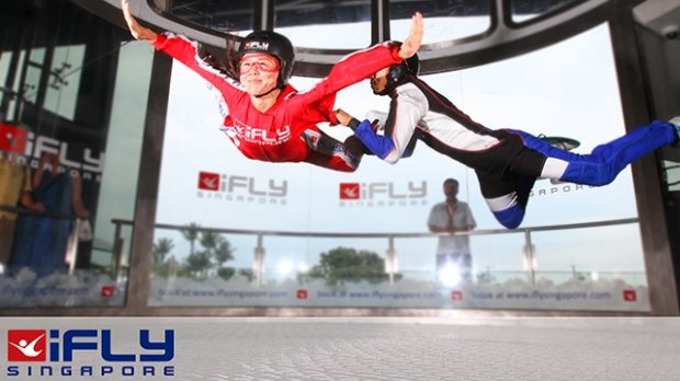 Special Offer in iFly Singapore Exclusive for NTUC Cardholders