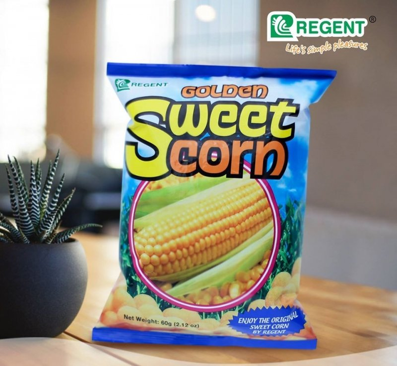 Filipino Snacks: Golden Sweet Corn
