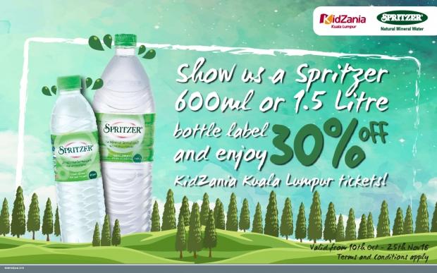 Up to 30% Off Admission Pass to KiZania Kuala Lumpur