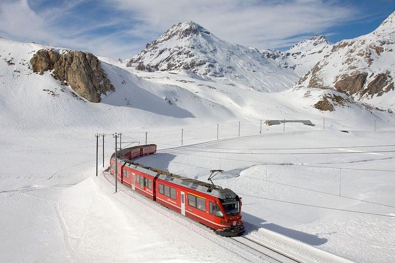 Country-Hopping by Train: Bernina Express
