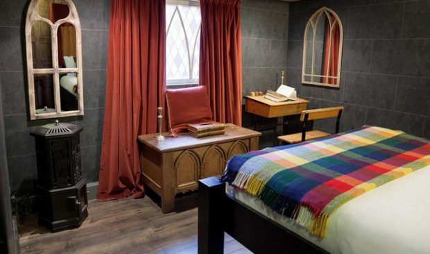 harry potter-themed hotel