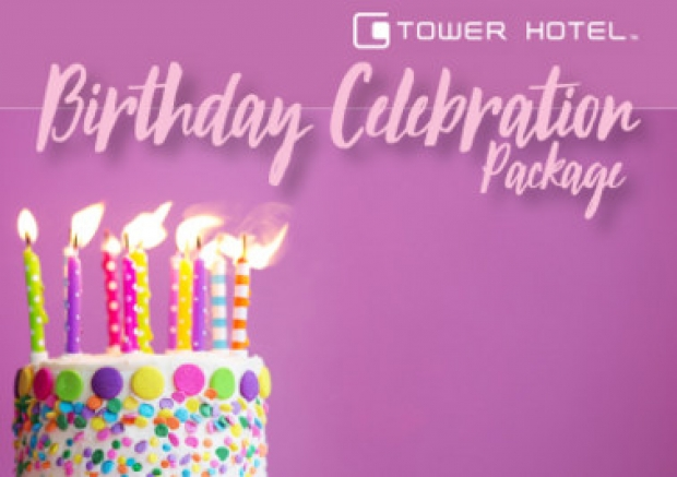 Birthday Celebration Package with Room from RM358 in G Tower Hotel