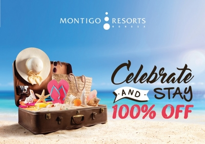 Celebrate and Stay, 100% off!