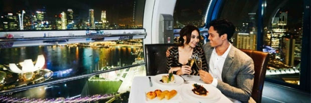 Valentine's Day Promotion for Takashimaya Shoppers at Singapore Flyer