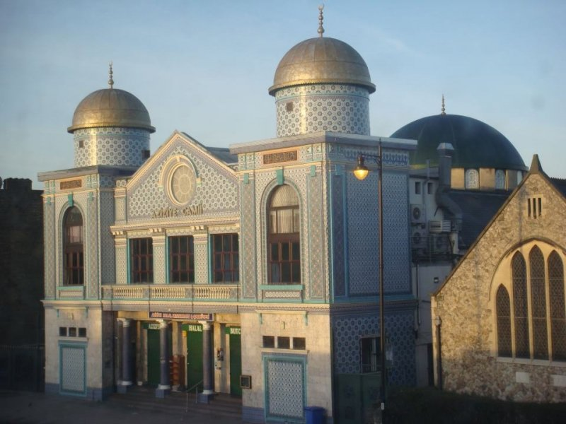 Londra Aziziye Camii (Aziziye Mosque London)