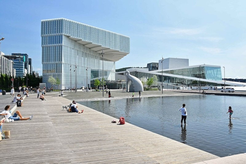 This Stunning Norwegian Library Has Been Named the Best Public Library in the World