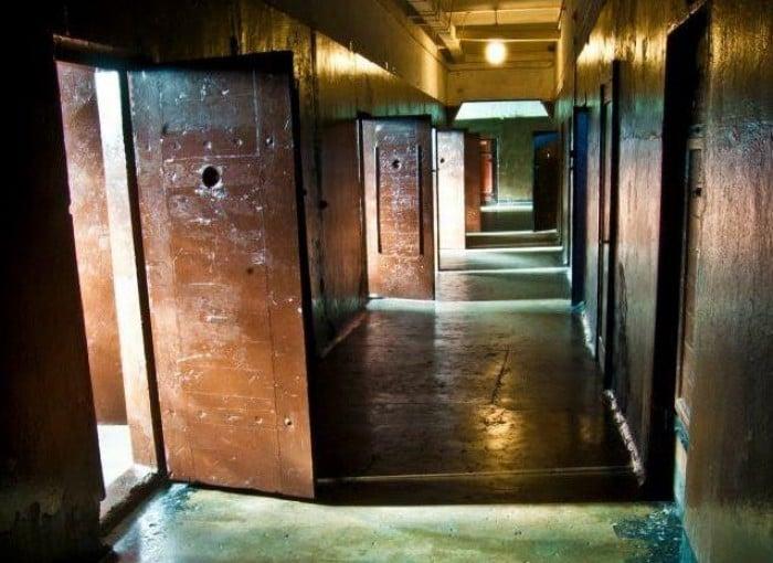 prison hostel corridor