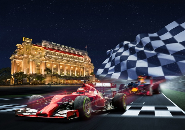 Formula 1 Special Offer in The Fullerton Hotel Singapore