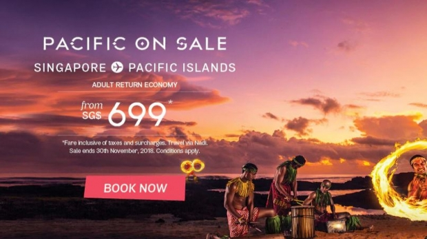 Discover Tropical Paradise as you Fly with Fiji Airways