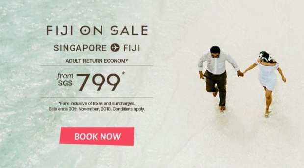 Discover Tropical Paradise as you Fly with Fiji Airways 1