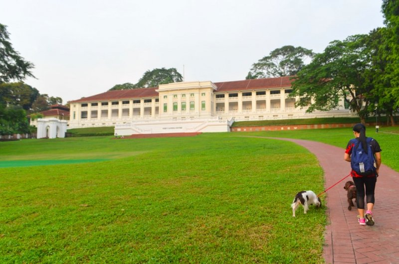 picnic spots in singapore fort canning park