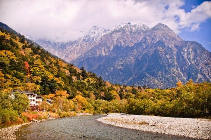 Chubu Sangaku National Park japan