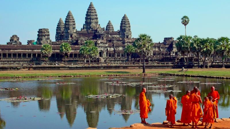 Campuchia: Tưởng Tượng Vs Thực Tế đền Angkor Wat rất rẻ