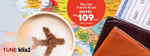 Only RM109 for Tune KLIA2 Day Use Transit Room