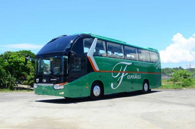 premium buses in manila: farinas transit