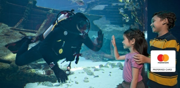 Mastercard® Exclusive: S.E.A. Aquarium Ticket Offer at SGD41