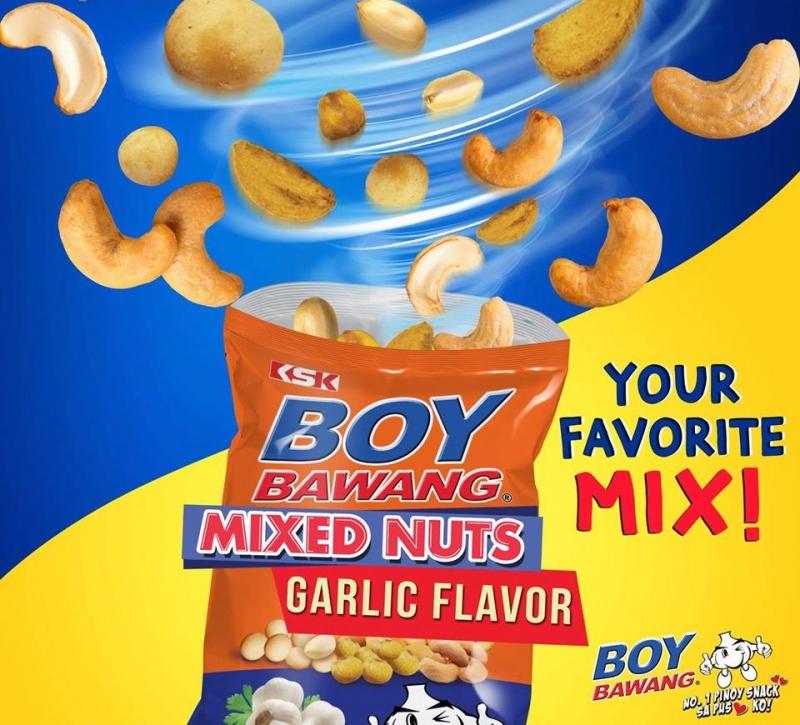 Filipino Snacks: Boy Bawang