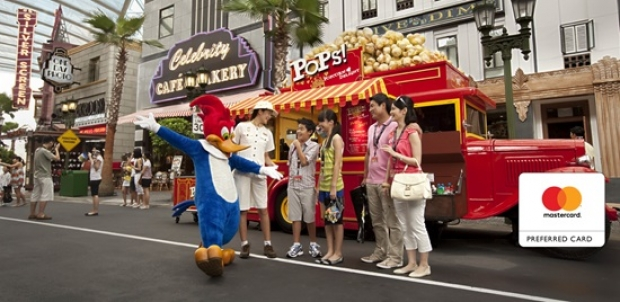 Universal Studios Singapore Adult Dated One-Day Ticket at SGD81 with MasterCard