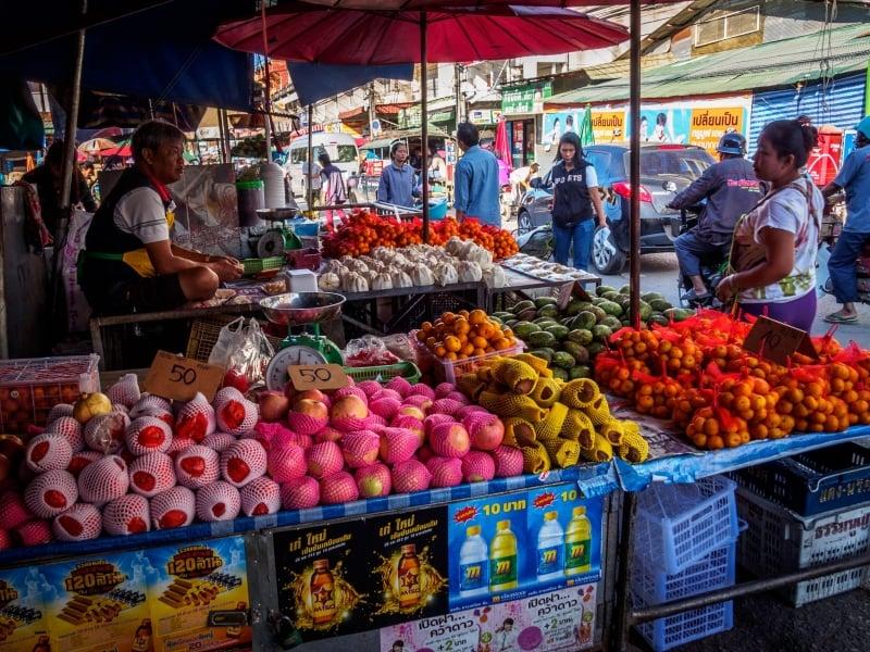 Sirikorn Fruit and Vegetable Market