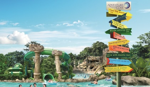 Adventure Cove Waterpark Adult One-Day Ticket at S$28 with UOB Card