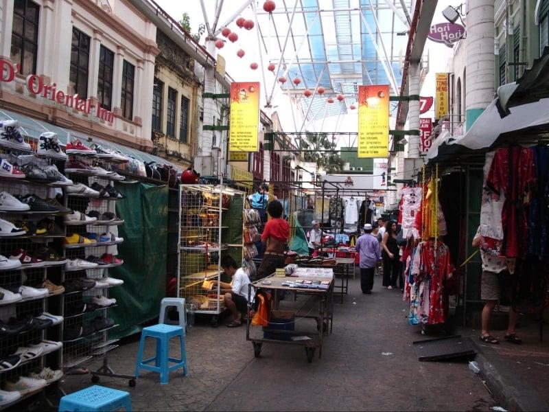 Chợ trời phố Petaling (Chinatown)