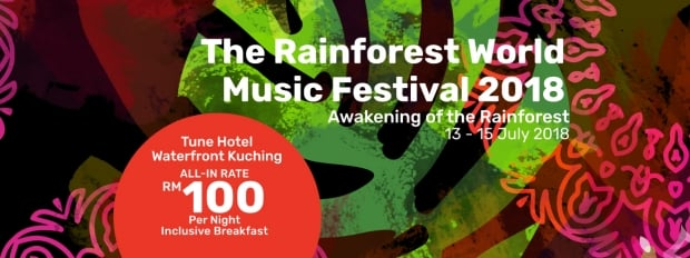 Join the Fun with Tune Hotel Waterfront Kuching