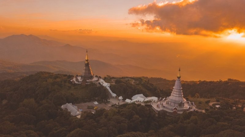 Doi Inthanon Sunset