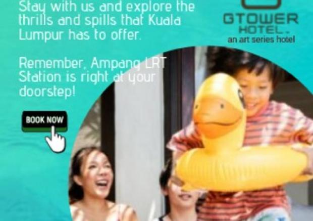 Jom Cuti-Cuti at G Tower Hotel Kuala Lumpur