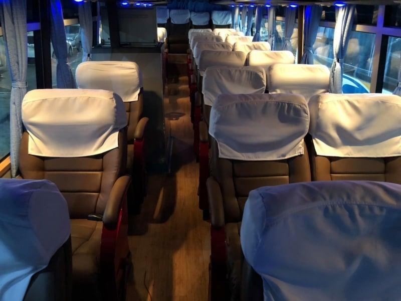 premium buses in manila: isarog's elite bus