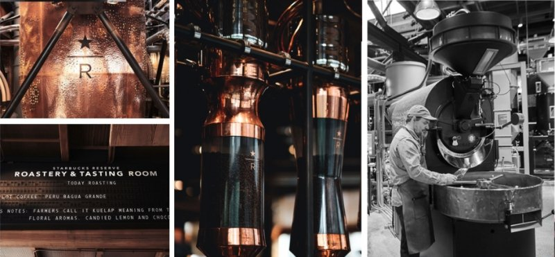 Starbucks Reserve Roastery in Seattle