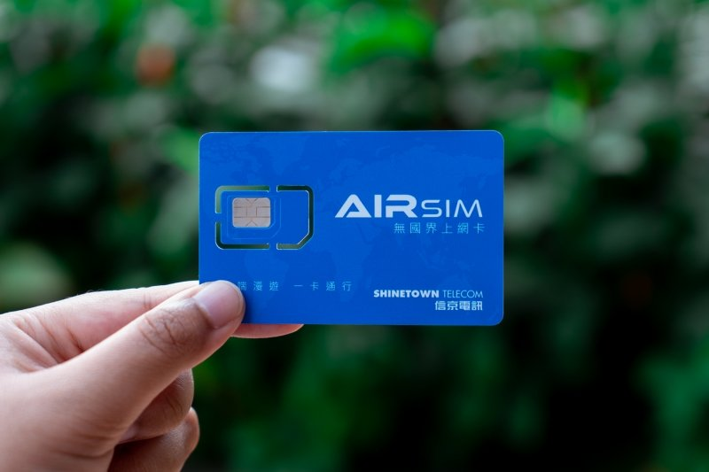 unboxing travel sim card