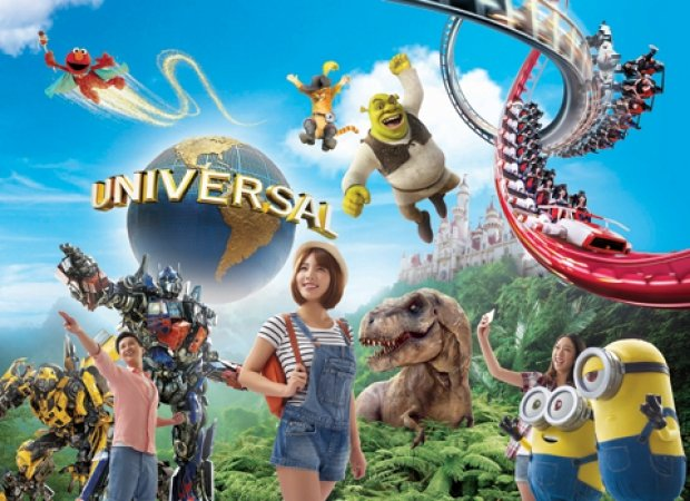Universal Studios Singapore and Maybank Promotion   Child One-Day Ticket + 1 FREE Ice Cream at S$56