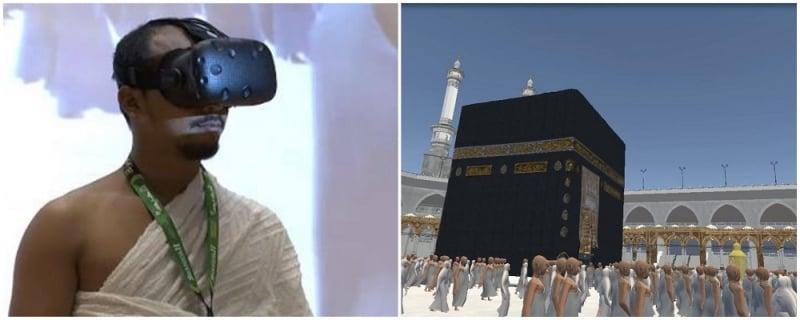 VR umrah mecca hajj