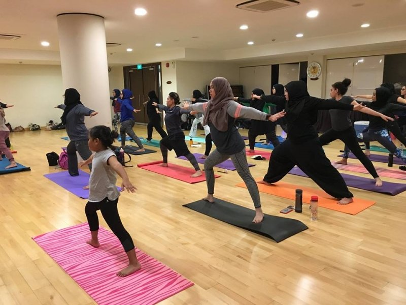 Hijab-Friendly Fitness Classes in Singapore - HalalZilla