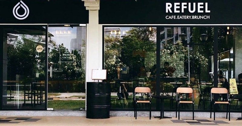 Refuel Cafe is one of the hidden cafes in Singapore