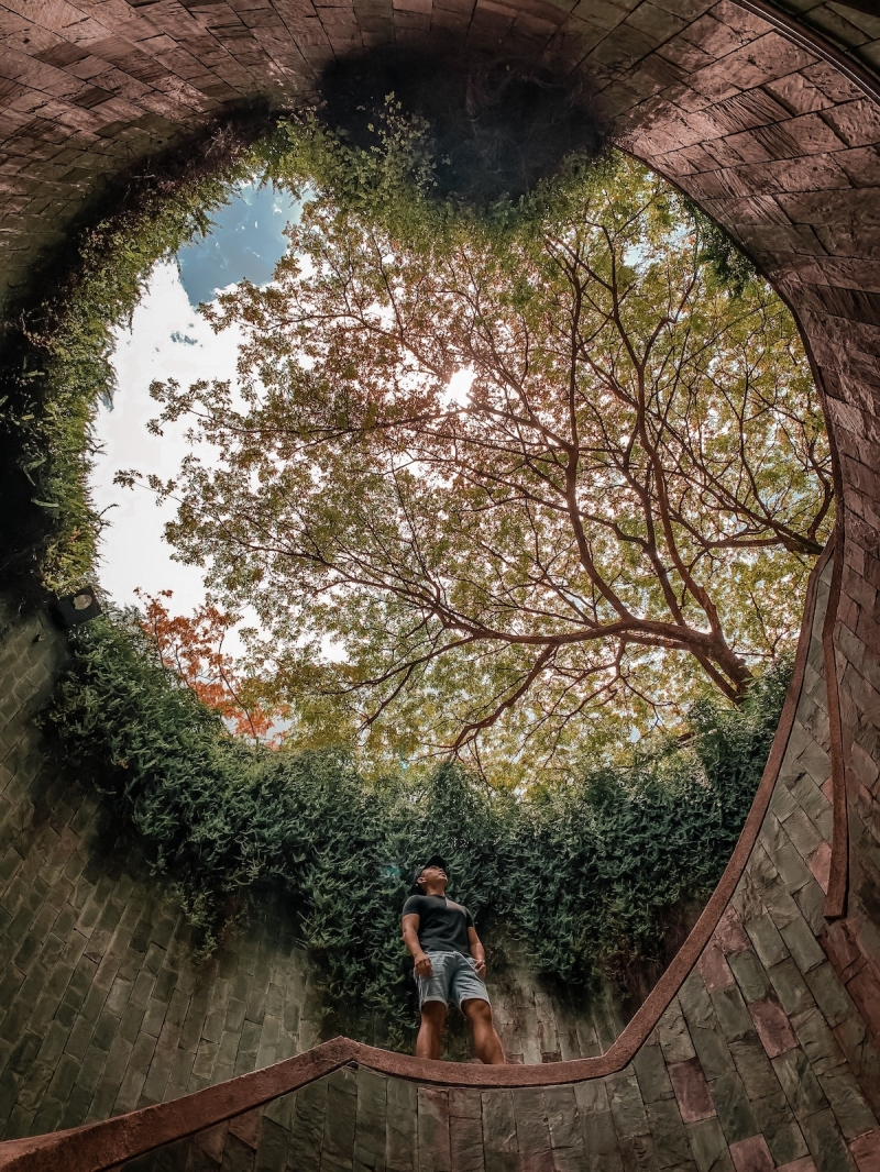 Fort Canning Park staircase best places hike singapore