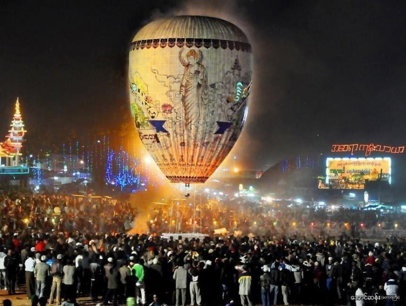 myanmar festivals